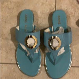 Anne Klein Shoes - Anne Klein Flip flops